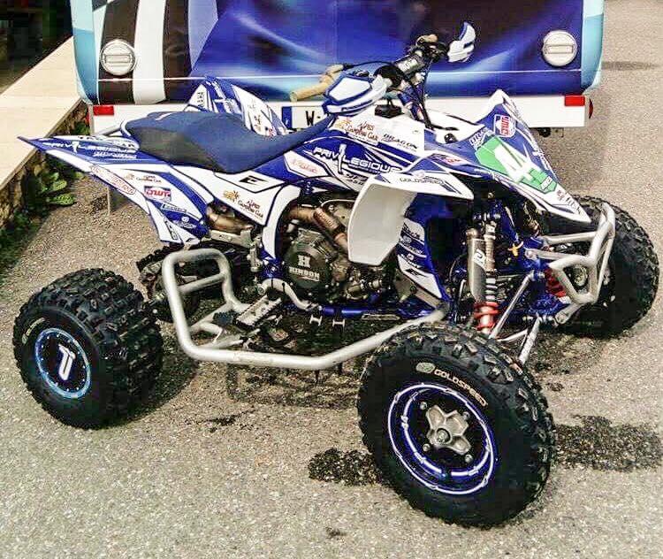 kit déco quad yamaha 450 yfzr maxime ribes 2018