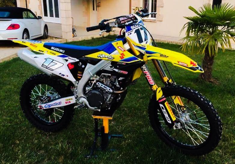 kit déco suzuki 450 rmz 2019 eight racing