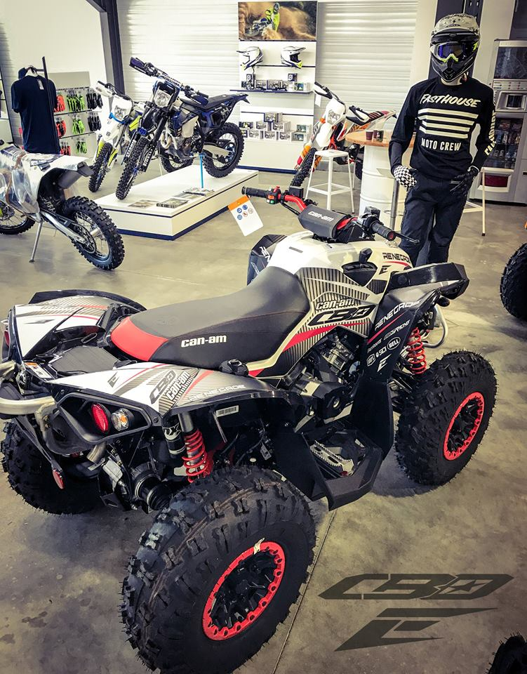kit déco quad can am renegade cbo group