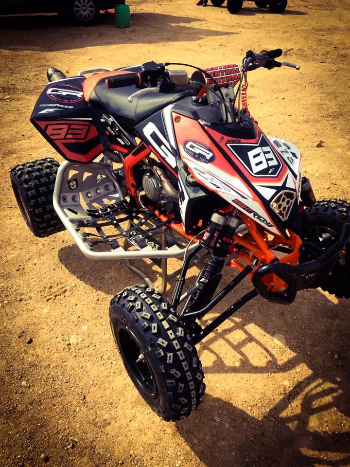 kit déco quad ktm 450 sx gr motors and cycles 2018
