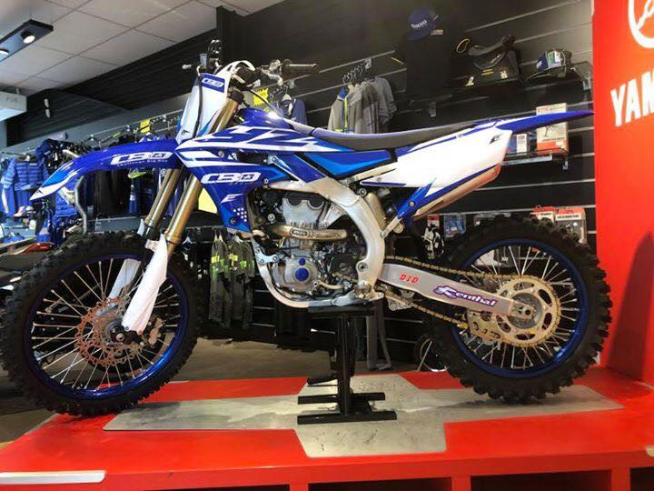 kit déco motocross yamaha 450 yzf