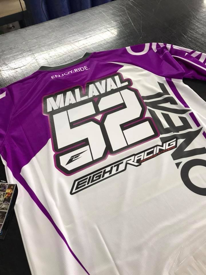flocage maillot oneal malaval