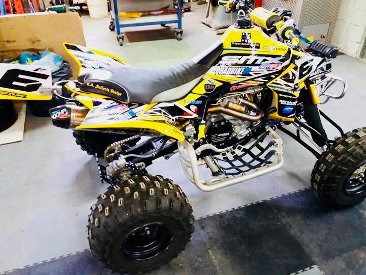 kit déco quad yamaha 450 yfzr smx racing