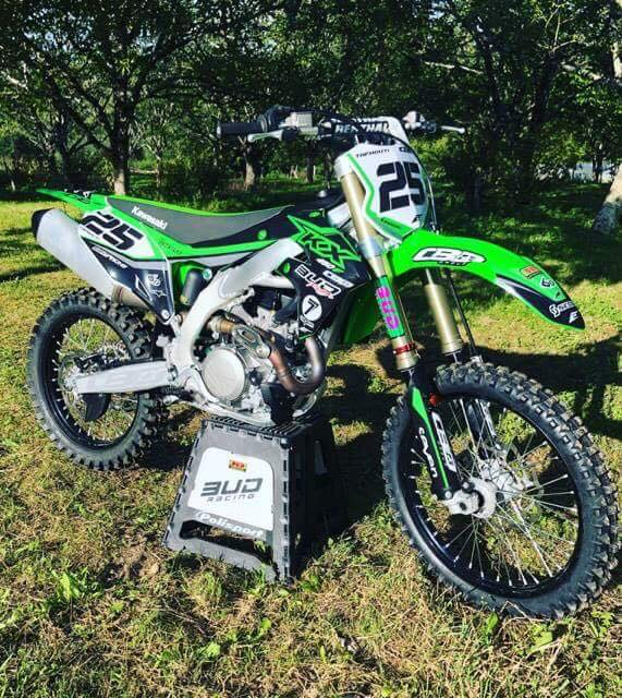 kit déco mtocross kawasaki 450 kxf 2019
