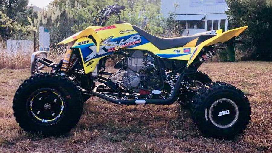 kit déco quad suzuki 450 ltr