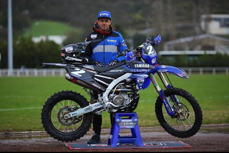 kit déco enduro yamaha 250 wrf 2018 team yamaha bonneton 2 roues