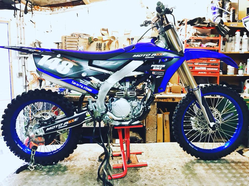 kit déco motocross yamaha 250 yzf 2018