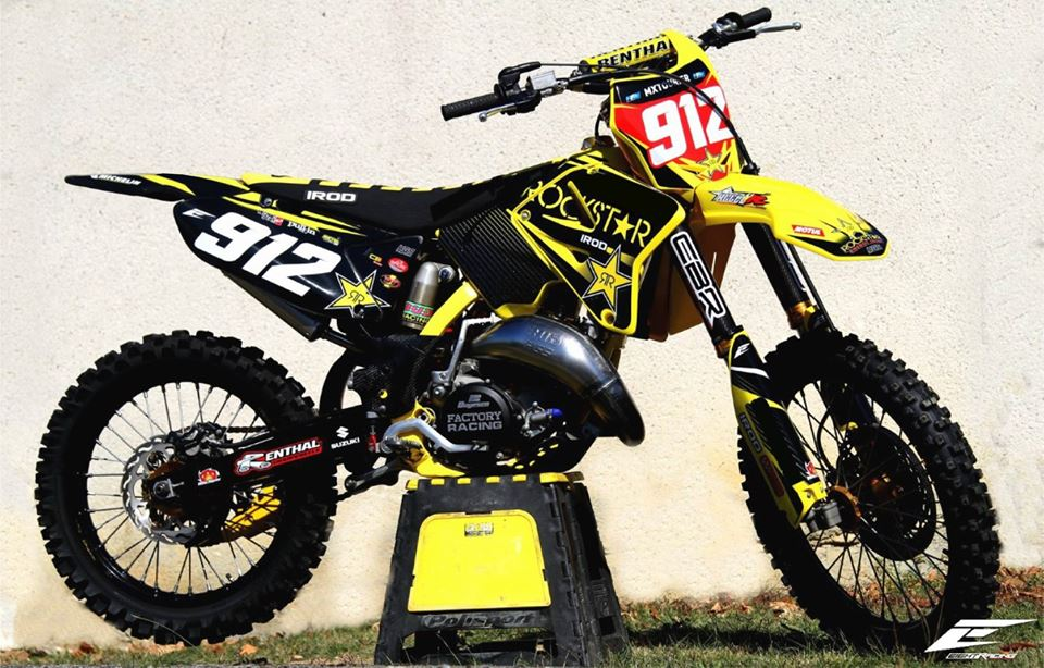 kit déco suzuki 125 rm motocross