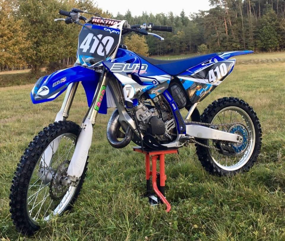 kit déco yamaha 125 yz bud racing 2018