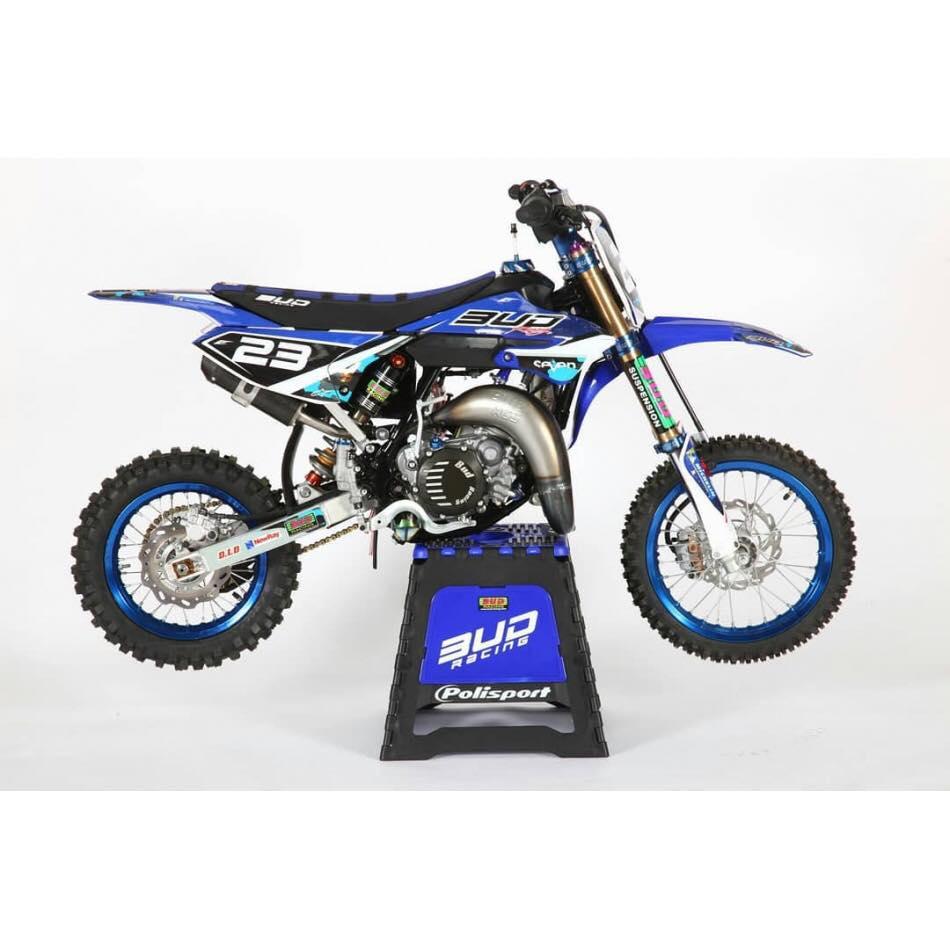 kit déco motocross yamaha 65 yz bud racing 2019