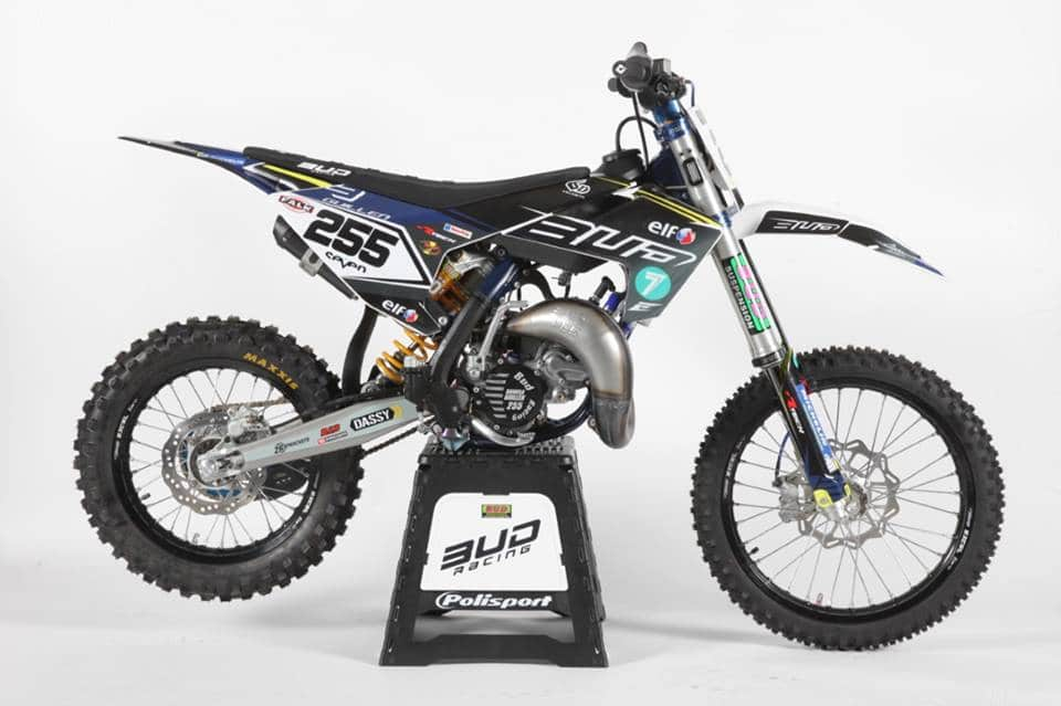 kit déco husqvarna motocross 85 tc bud racing