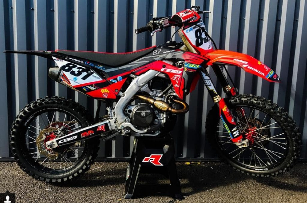 kit déco 450 crf brice maylin 2018