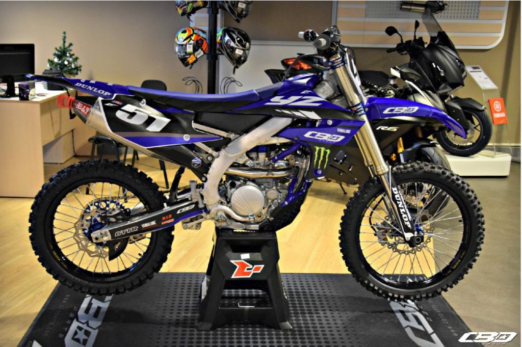 kit déco yamaha 250 yzf 2019 cbo group