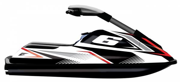 kit déco complet personnalisable pour jetski yamaha superjet de 2000 à 2020 eight série 3. eight racing factory stickers graphics décals.