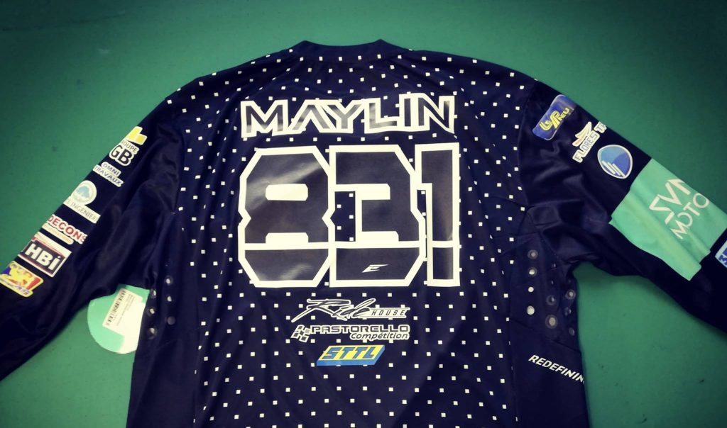 flocage maillot seven brice maylin