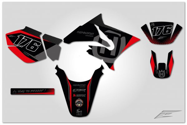 kit déco eight racing factory stickers décals yamaha 50 dt kit déco maxity 2018-montage-01