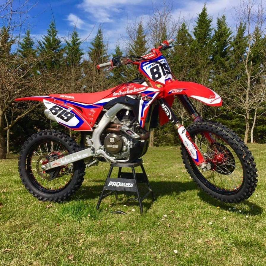kit déco 450 crf 2019 guillaue brun
