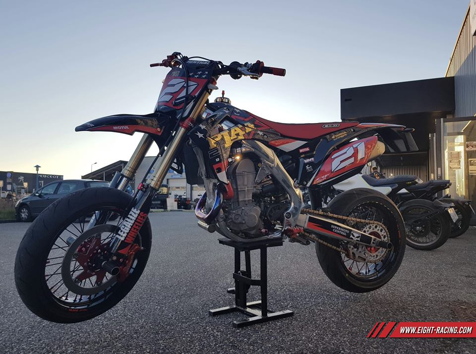 kit déco 450 crf supermotard
