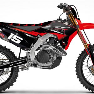 Kit déco semi perso Ribbed Honda 250 CRF.