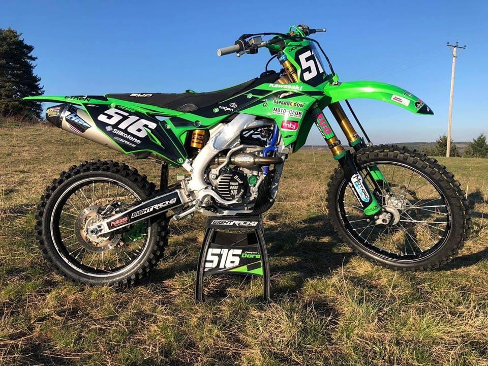 kit déco motocross kawasaki 250 kxf 2019