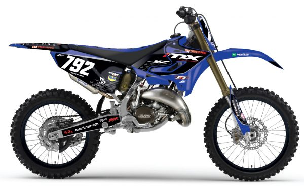 kit déco pour motocross yamaha 125 250 yz de 2000 à 2019 réplica mx develloppement 2019 eight racing stickers moto mx decals graphics