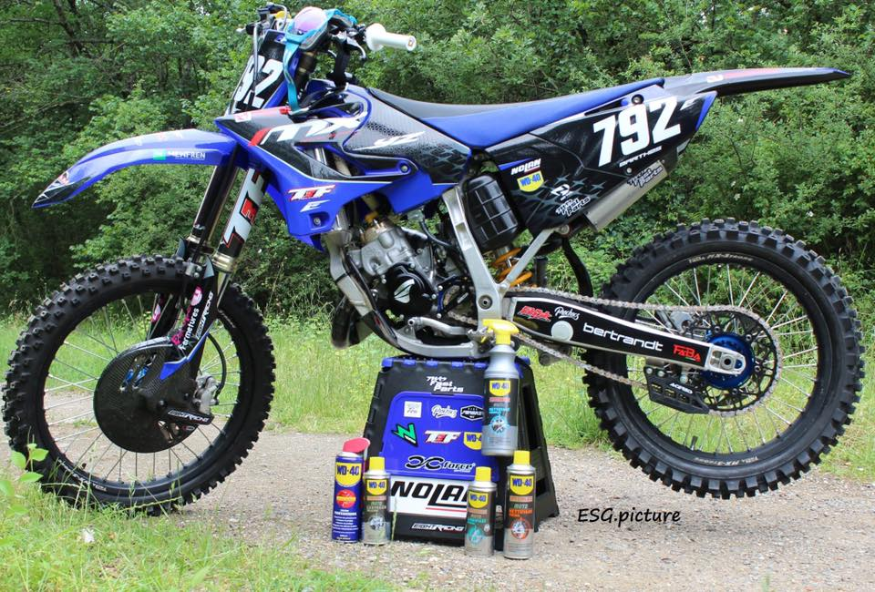 kit déco 125 yz yamaha team mx developpement 2019 eight racing factory stickers graphics décals