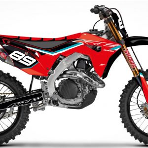 Kit déco semi perso Outline Honda 450 CRF.