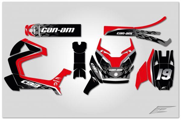 kit déco canam ryker 2019 réplica cbo group 1 autocollant stickers graphics eight racing-01