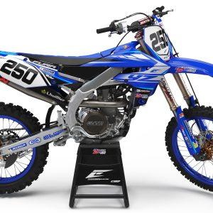 Kit déco Team Yamaha Bonneton 2 roues 2020 réplica Yamaha 450 YZF.