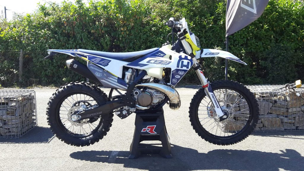 Kit déco husqvarna te 2020 eight racing factory stickers graphics décals