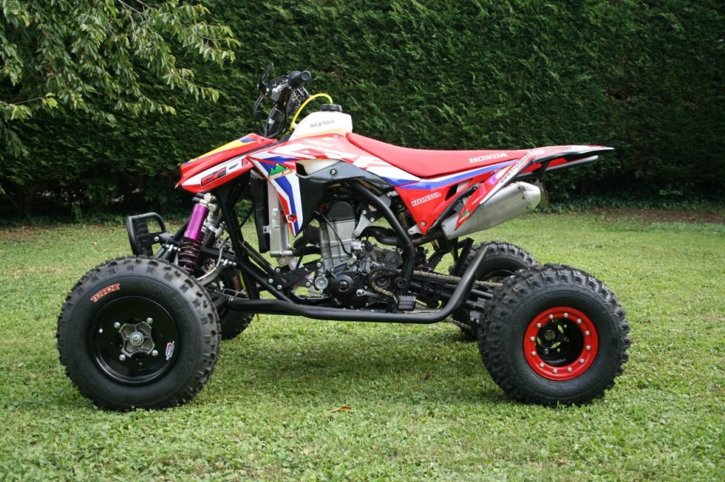 kit déco honda quad atv 450 CRQF eight racing factory stickers graphics décals