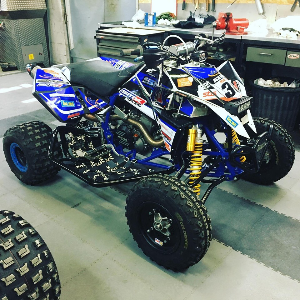 kit déco quad atv ktm smx racing eight racing factory stickers graphics décals