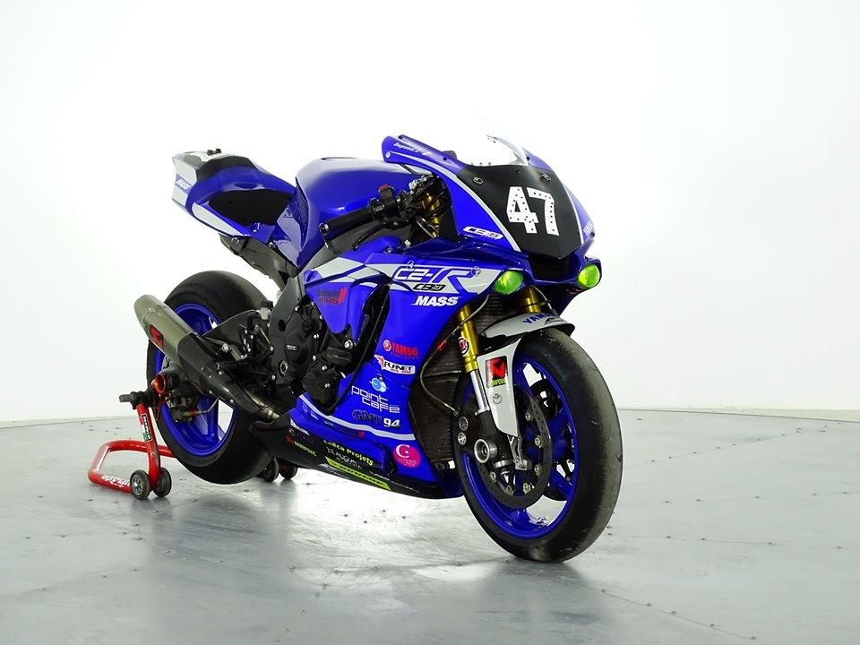 kit déco yamaha R1 team C2R 2019 eight racing factory stickers graphics décals