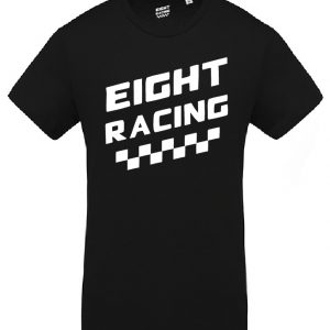 TEE-SHIRT EIGHT RACING CHECKERS