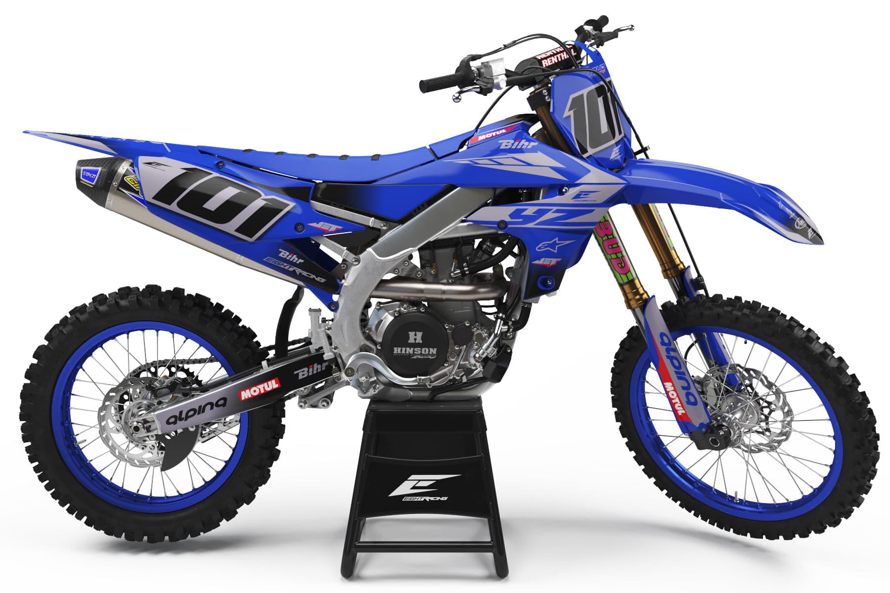 Kit Déco VDB 2020 Réplica Yamaha 250 YZF