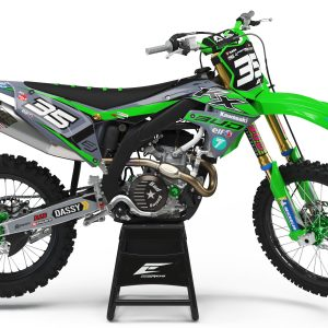 KIT DÉCO KAWASAKI TEAM BUD RACING 2020 REPLICA
