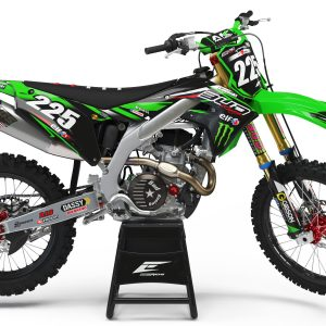 KIT DÉCO KAWASAKI TEAM BUD RACING 2017 REPLICA