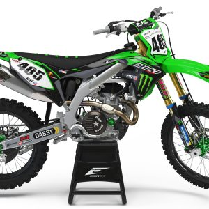 KIT DÉCO KAWASAKI TEAM BUD RACING 2018 REPLICA