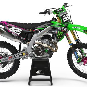 KIT DÉCO KAWASAKI TEAM BUD RACING MONSTER CUP 2018 REPLICA