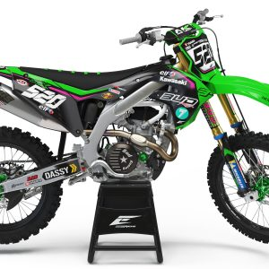 KIT DÉCO KAWASAKI TEAM BUD RACING 2019 REPLICA