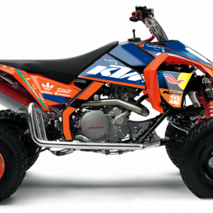 KIT DÉCO QUAD KTM TROY REPLICA