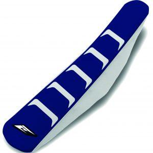 HOUSSE DE SELLE HUSQVARNA FULL TRACTION WHITE/BLUE