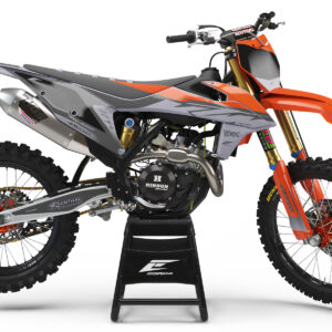 KIT DÉCO KTM FLASH SERIE GREY SEMI PERSO